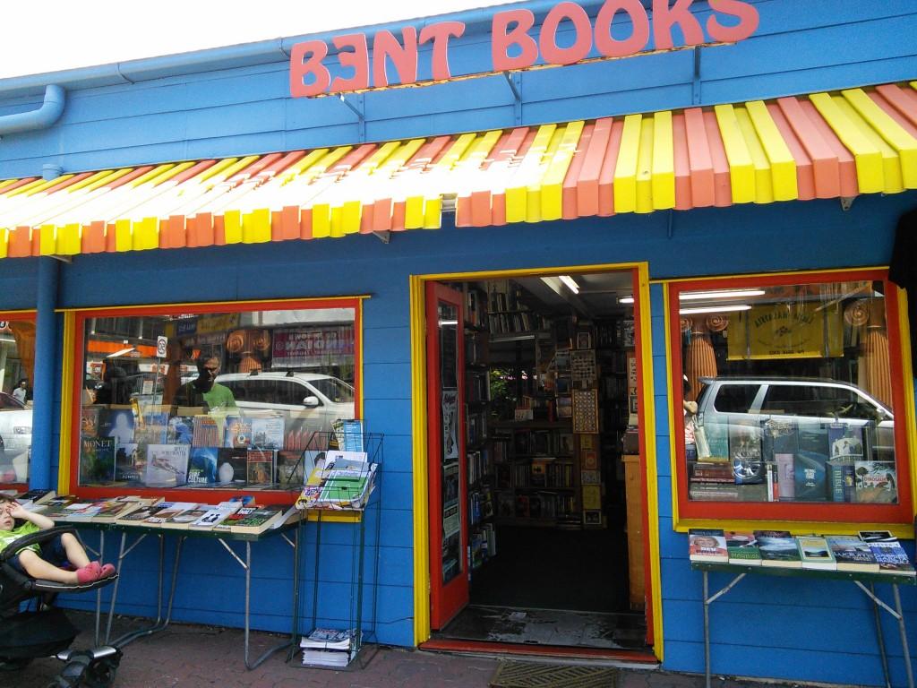 Bent Books outside
