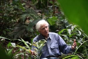 Poet Laureate and environmental activist W.S. Merwin.